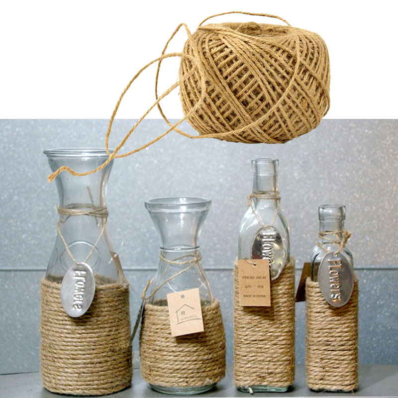 Diy Rope Craft Projects To Do At Home: Twisted Burlap Jute Twine Rope Natural Hemp Cord String