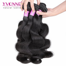 7A Grade Brazilian Virgin Hair Body Wave,4Pcs/lot Human Hair Extension,Top Quality Aliexpress YVONNE Hair Products