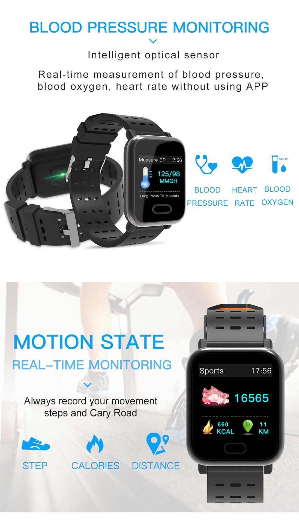 Waterproof Smartwatch Fitness Tracker
