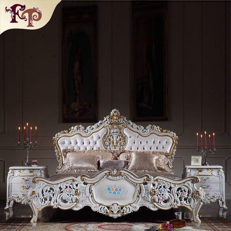 Klassische italienische antike schlafzimmer möbel antike ...