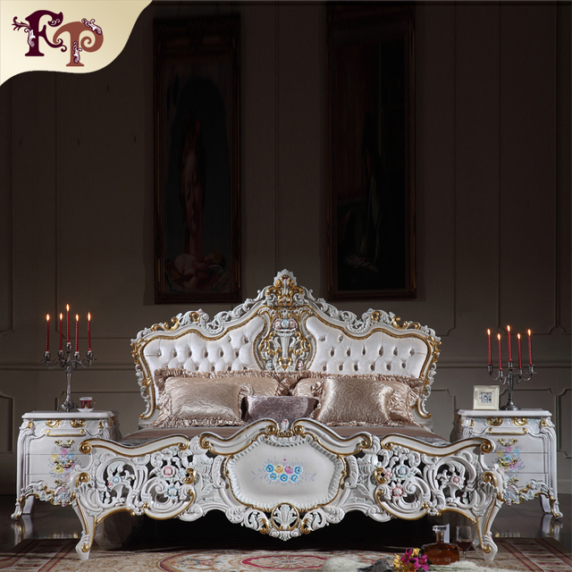 classic italian antique bedroom furniture-antique baroque european furniture