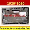 De alta calidad para hp split x2 13 pantalla lcd 1920*1080 b133han02.3 touch digitalizador asamblea con marco