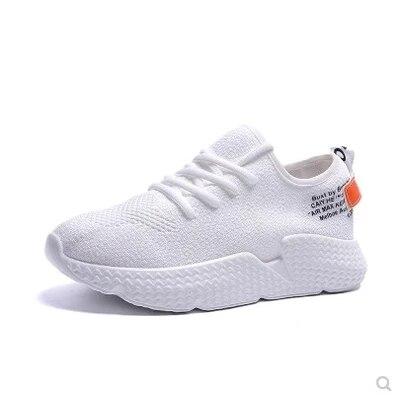 Femmes Feu Version noir Étudiants Coréenne forme Occasionnels Super 2018 Net La Plate Sportifs De Chaussures Beige Noir Blanc Respirant wzprRzXqg