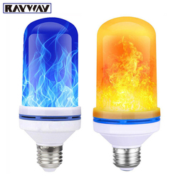 7 Вт светодио дный   фект пламени огня лампочки мерцающего эмуляции декоративные лампы имитация Винтаж пламени E27 лампы для клуба Бар