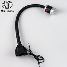 Crubon 3 Вт/9 Вт 24 В/220 В мягкий алюминиевый стержень высокой