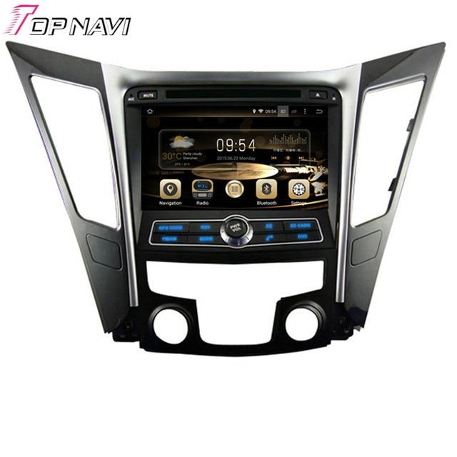 8 ''quad core android 5.1 radio de coche para hyundai sonata I40 I45 I50 YF 2011-Con Radio Estéreo Multimedia de 16 GB Flash