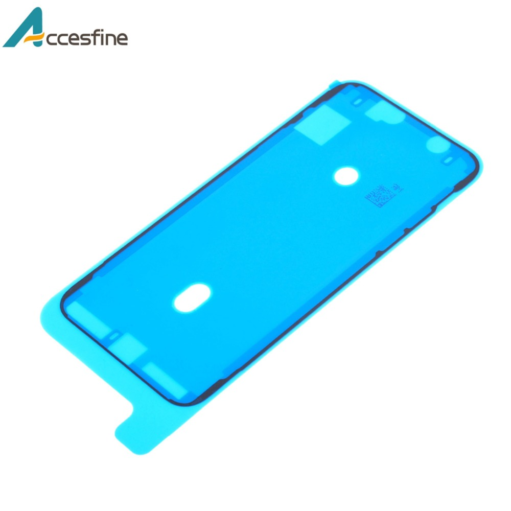 2Pcs Waterproof Sticker Glue Tape for iPhone XS Max XR X Pre Cut LCD Touch Screen Display Frame