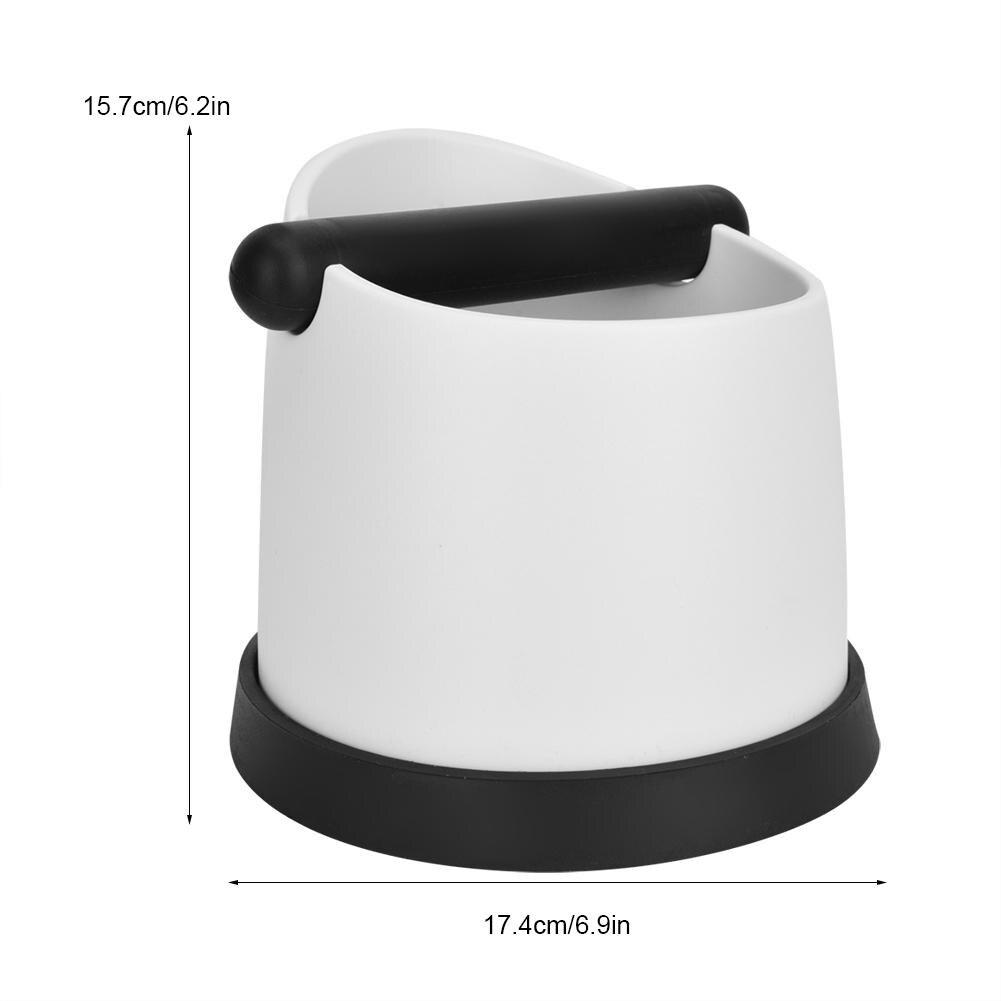 Высокая емкость кофе коробка для сброса эспрессо основания контейнер кофе инструменты + Нескользящая база инструмент