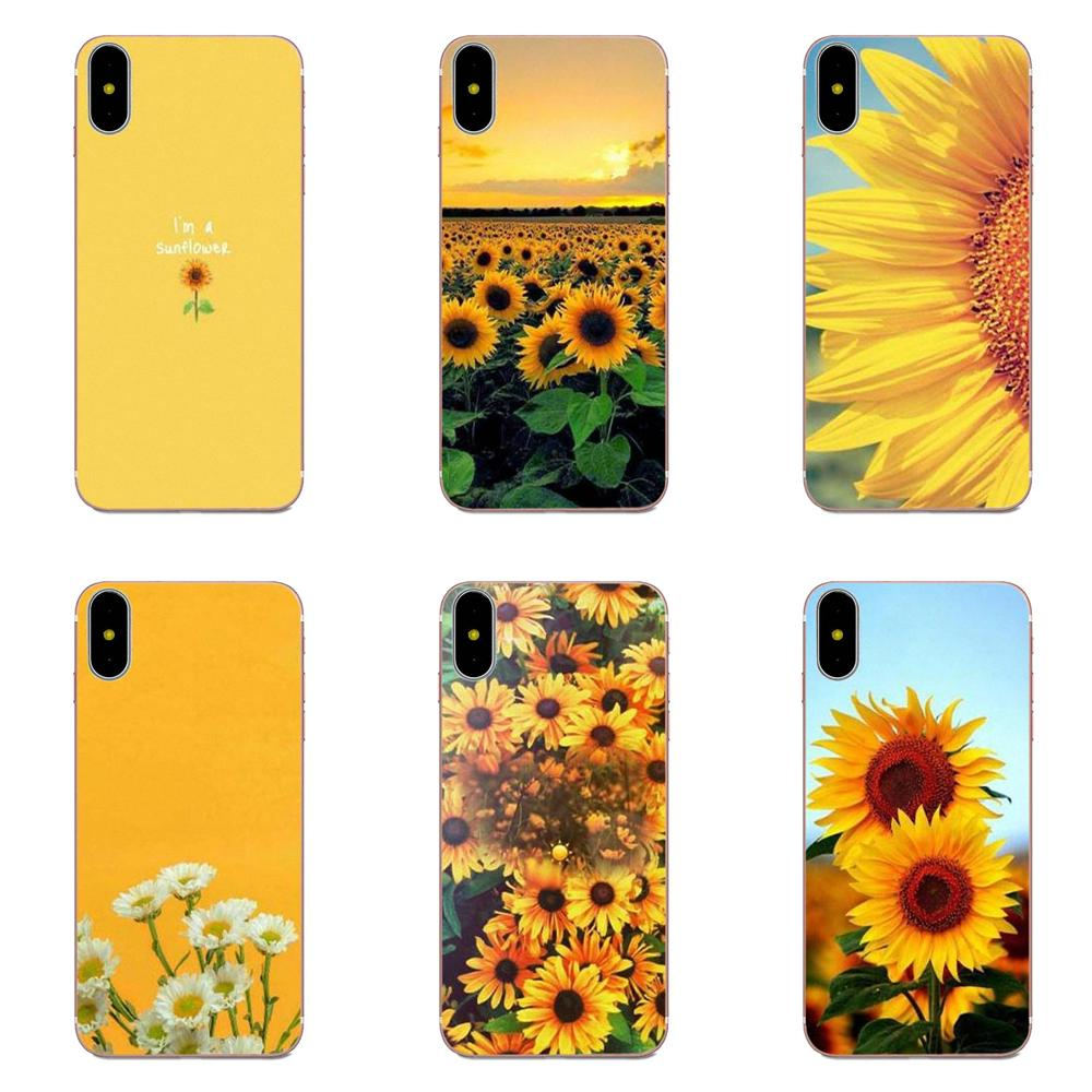 Sunfowers Fantasy Show Diy Phone Case For Apple iPhone X XS Max XR 4 4S 5 5C 5S SE 6 6S 7 8 Plus image