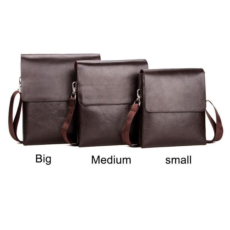 Briefcase Shoulder-Crossbody-Bag Messenger Mobile-Phone Zipper Business Men for Hot