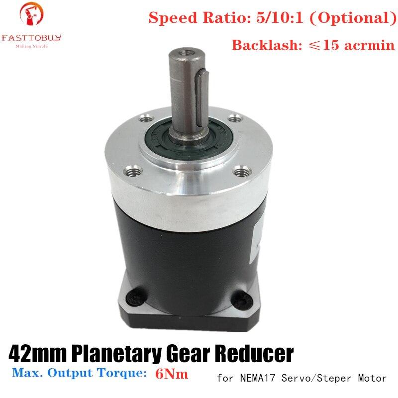 Планетарный редуктор NEMA17 42 мм, высокая точность, коэффициент 5:1/10:1, Acrmin 15 для NEMA17 42 мм, Серводвигатель 42XG|Редукторы скорости|   | АлиЭкспресс