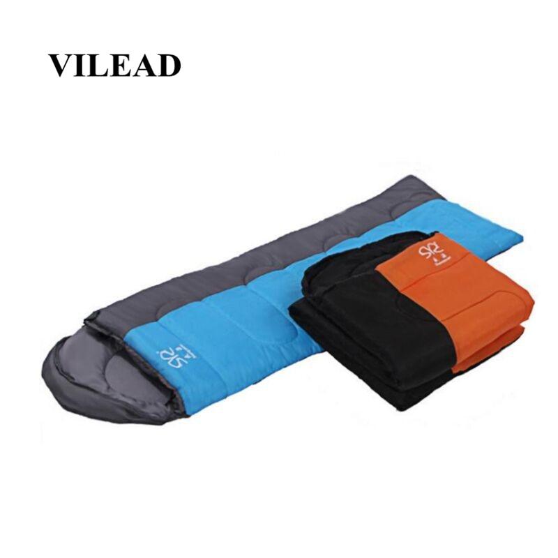 VILEAD 2 Colors Ultralight Envelope Sleeping Bag Waterproof Lightweight Camping Stuff Hiking Sleeping Summer Adult Camp Quilt