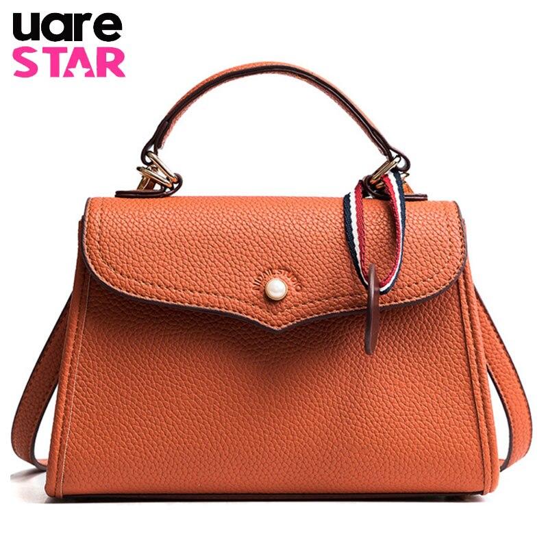 9259546ddbe 2018 Fashion PU Leather Ladies Handbag Vintage Women Messenger Bag High  Quality Female Casual Tote Shoulder Bag Bolsas