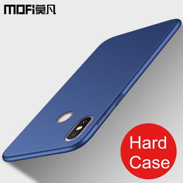 new arrival a0d7b ff088 Xiaomi Mi A2 case cover xiaomi 6x back cover hard protective shockproof  luxury case capas MOFi original xiaomi mi 6x case