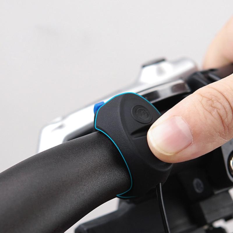 Image 5 - Перезаряжаемые скутер колокол 120dB Водонепроницаемый руль звуковой сигнализации для Xiaom Mijia M365 Ninebot ES1 ES2 скутер qicycle EF1 велосипед-in Детали и аксессуары для скутера from Спорт и развлечения