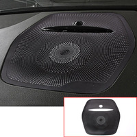 For Mercedes Benz GLE ML W166 GL X166 GLS Car Aluminum Alloy Loudspeaper Deco Car Audio Sticker Car Stereo Cover Auto Trim