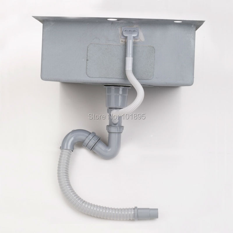 SUS304 cuenco cuadrado de acero 600*500*228 MM fregadero de cocina X26011 - 4
