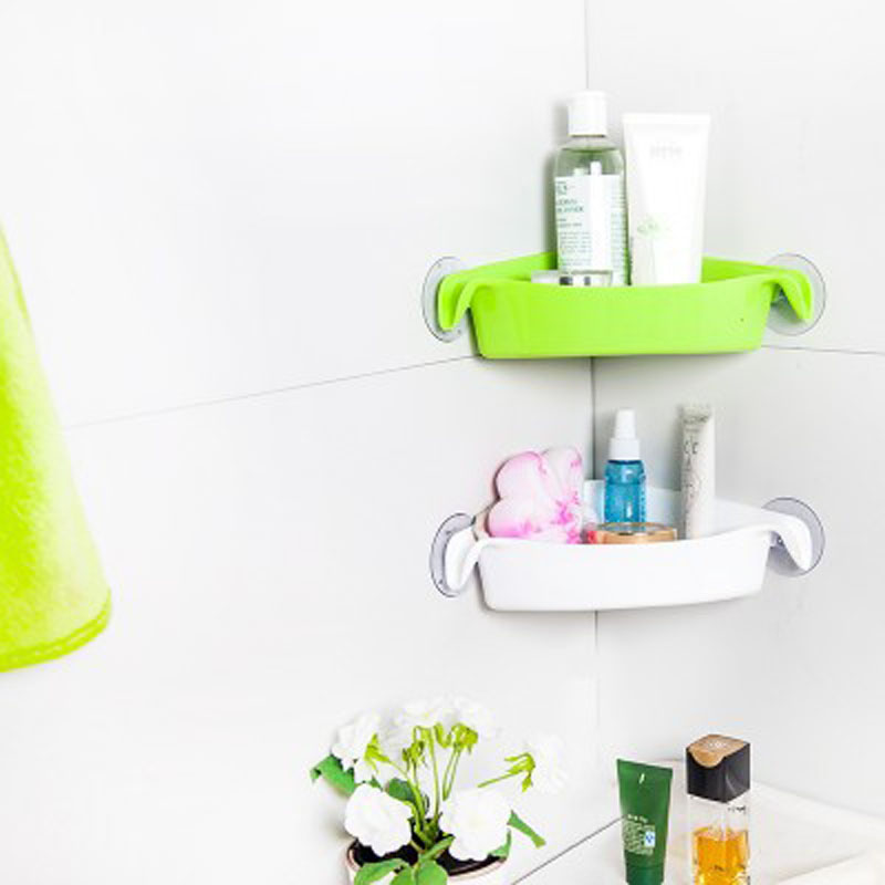 Home With Good Helper Multi Purpose Bathroom With Strong Suction Cups Shelf  Toilet Corner Storage Shelf Kitchen Shelf On Aliexpress.com | Alibaba Group