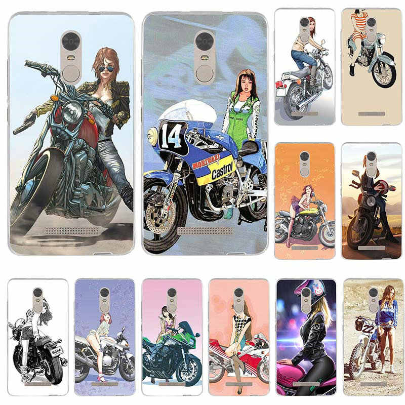 fc422d434d8256 Detail Feedback Questions about Locomotive Girl Riding A Motorbike Soft  Transparent Cover for Xiaomi Redmi Mi Note 2 3 3S 4X 4A 5 6 5 5S 5A 6 8 A1  Pro Plus ...