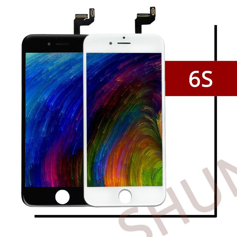 1PCS Top Quality For Tianma Ecran For iPhone 6S LCD Screen With 3D Touch Cold Press Display Replacement Assembly Free shipping