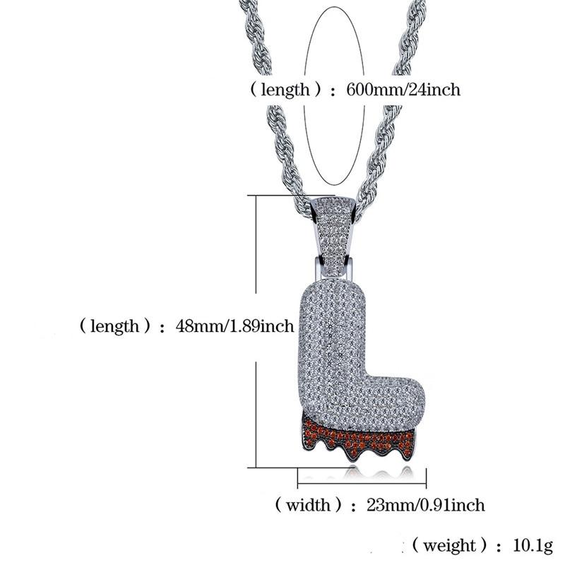 bubble letter necklace56