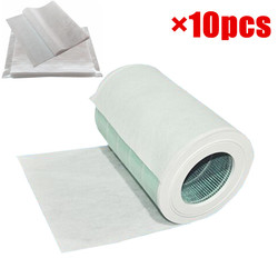 10pcs 68x30cm electrostatic cotton for xiaomi mi air purifier pro / 1 / 2 universal brand air purifier filter Hepa filter