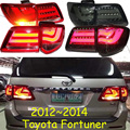 car-styling,Fortuner Taillight,2012~2014,led,Free ship!4pcs/set,Fortuner fog light;car-covers,Chrome,Fortuner tail lamp,Fortuner