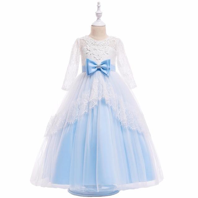 b8740641945a Kids Party Dresses For Girl Princess Dress Flower Girls Wedding Dress  Children Christmas Dress For Girls ...