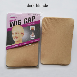 Image 5 - Peluca de lujo color Beige para mujer, paquete de Peluca de lujo de 36 Uds., elástica, elástica, para tejer, peluca de redecilla, tamaño libre