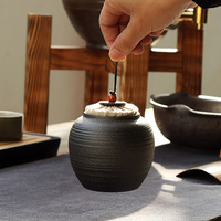 XIN28 2017China High Grade Ceramic Tea Canister Gift Storage Jar Tea Caddy Sugar Bowl Salt Shaker