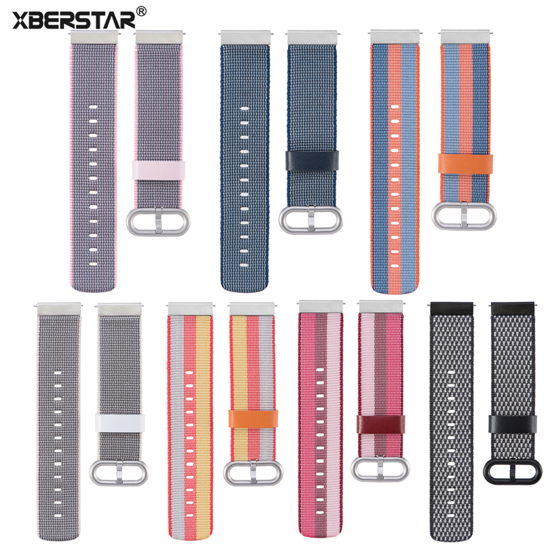 Universal Quick release 20mm Wrist Band Strap For Samsung Gear Sport/Moto360 Gen 2 42mm/Pebble Time Round/Huami Amazfit Bip BIT