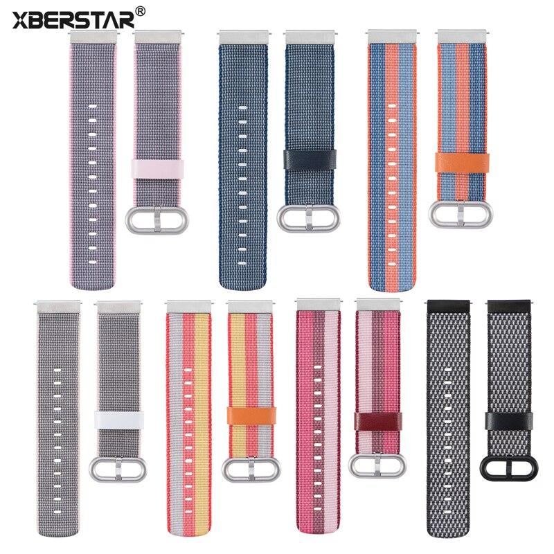 Universale Quick release 20mm Wrist Band Strap Per Samsung Gear Sport/Moto360 Gen 2 42mm/Pebble tempo Rotondo/Huami Amazfit Bip BIT