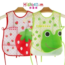 Baby Bibs Waterproof EVA Silicone Children Boy Girl Infants Burp Clothes Toddler Self Feeding CareWaterproof Drool
