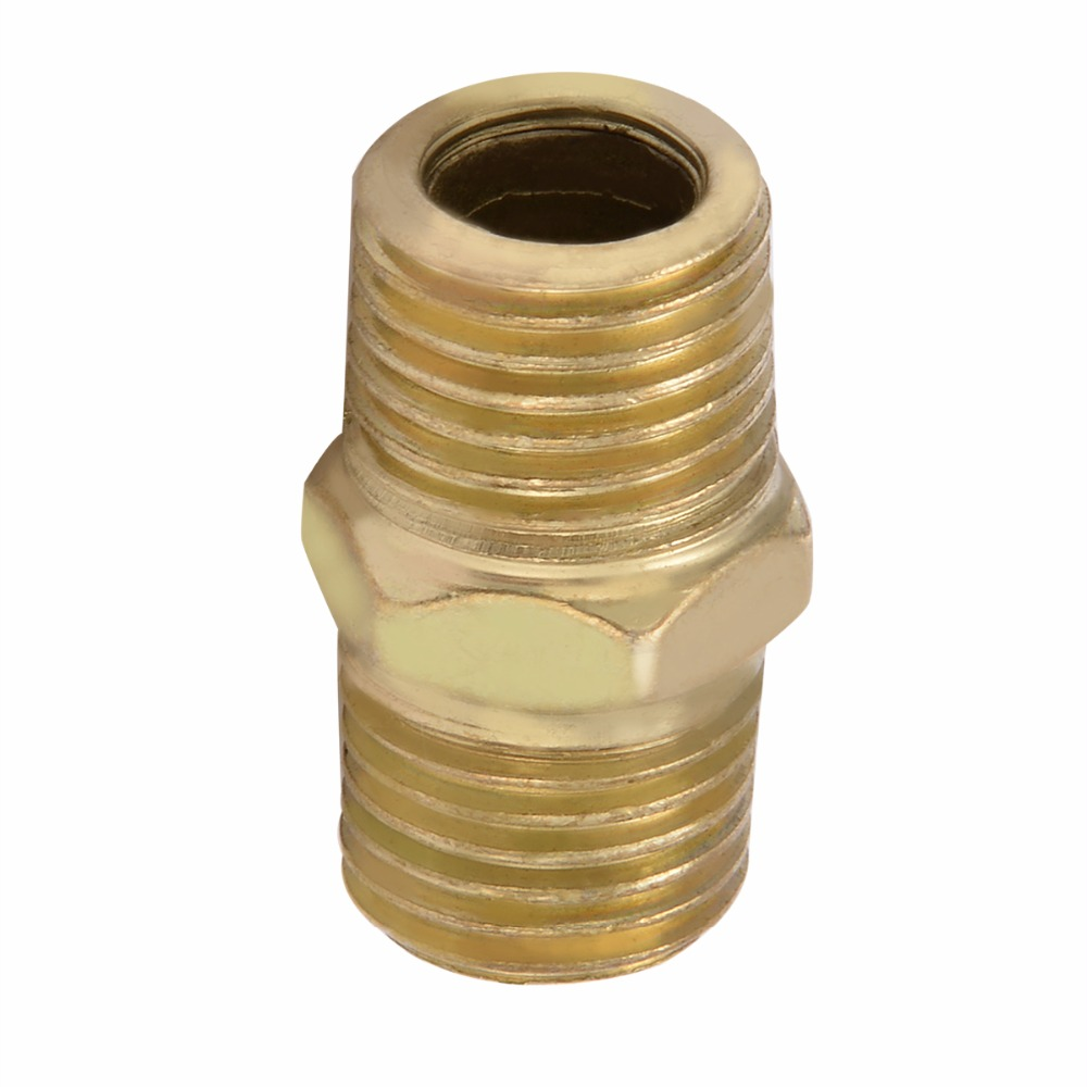 10pcs High Strength Euro Air Line Hose Fitting Connector 1/4 BSP Thread Quick Release Connectors 10pcs new gold air line hose connector euro fitting quick release set with 1 4 bsp male thread mayitr