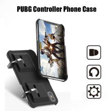 2 in 1 Mobile Game PUBG Controller mobile phone Case PUGB Joystick Gamepad for iPhone 6 6S 7 8 Plus X XR XS MAX cover