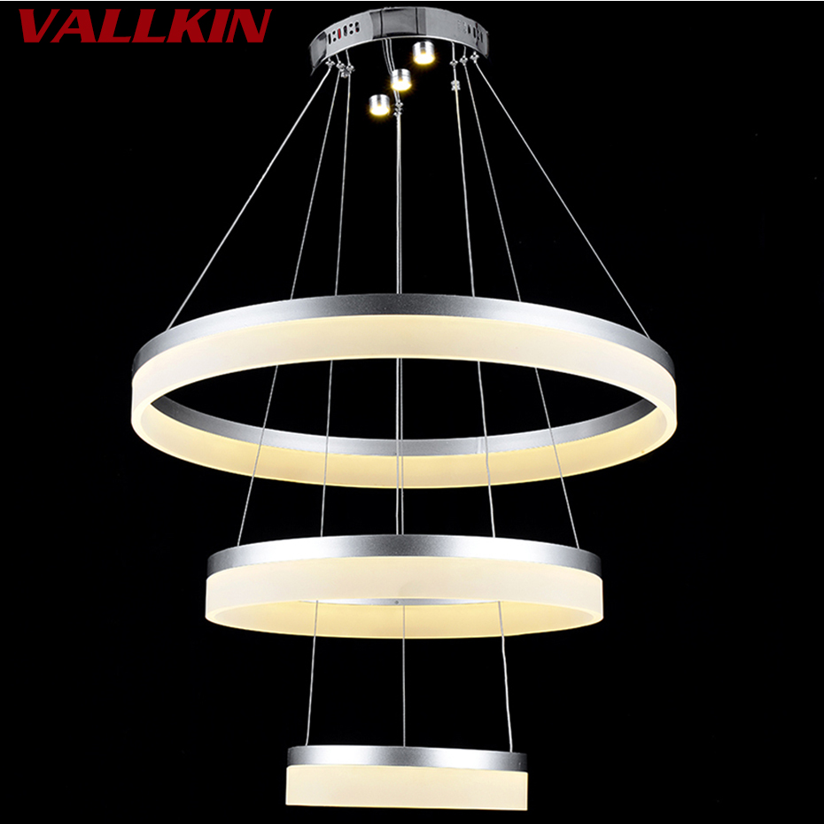 Modern Art Led Re Chandelier Lights Lamp For Living Room Acrylic Chandeliers Lighting Pendant Ceiling Fixtures Vallkin In From