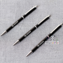Your logo here pocket pen custom printing with your company logo/name/email/phone text FREE 30pcs a lot