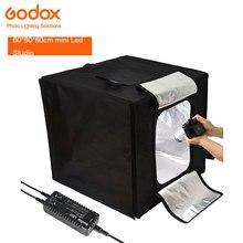 Em Estoque Godox LSD 60 cm Dupla de Dois Tiro Fotografia Mini LED Estúdio Luz-luz Duplo Para Evitar A luz fácil de operar
