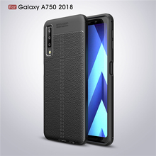 For Samsung Galaxy A7 Case Luxury Soft Silicone Coque Phone 2018 A750 Cover Fundas