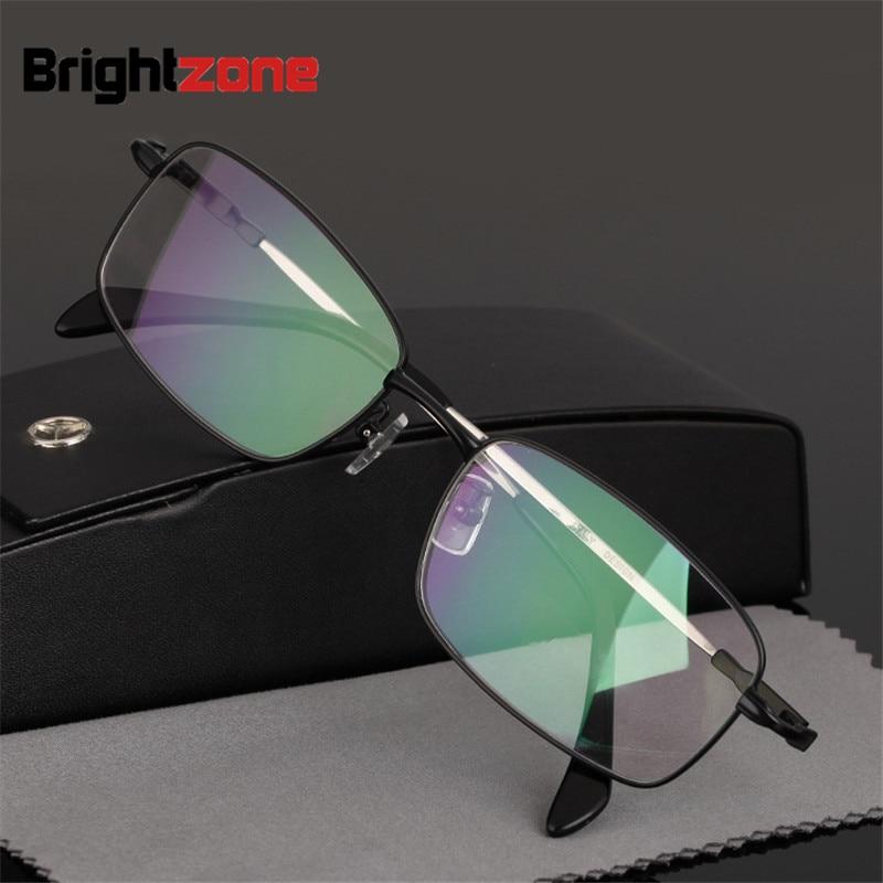 96eda22f366b9 Bolsa de negócios Homem Graduação Leitura Full Frame óculos de Liga de Titânio  Memória Óculos Óculos Para Presbiopia Progressiva Ver Longe E de Perto