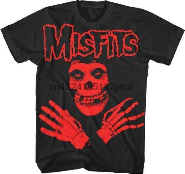 02b42c2e0 Detail Feedback Questions about MISFITS Red Skull Crossed Arms T Shirt  SMLXL2XL New Official Merchandise on Aliexpress.com | alibaba group