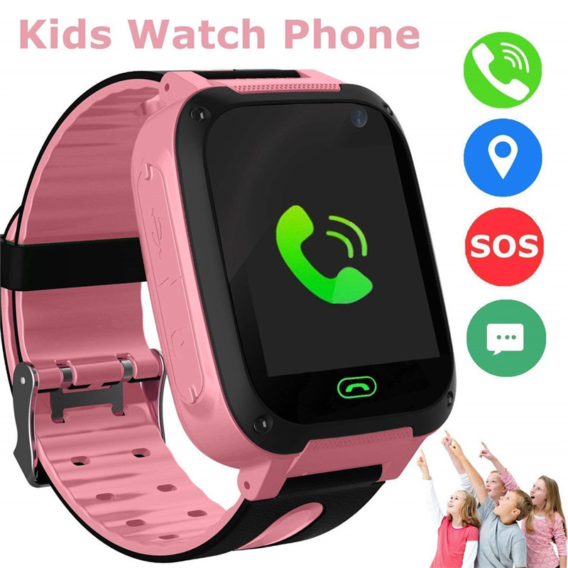 Camera-Screen Clock Smartwatch-Stand Sos-Call-Locator Wearable-Devices Kids Child Unisex