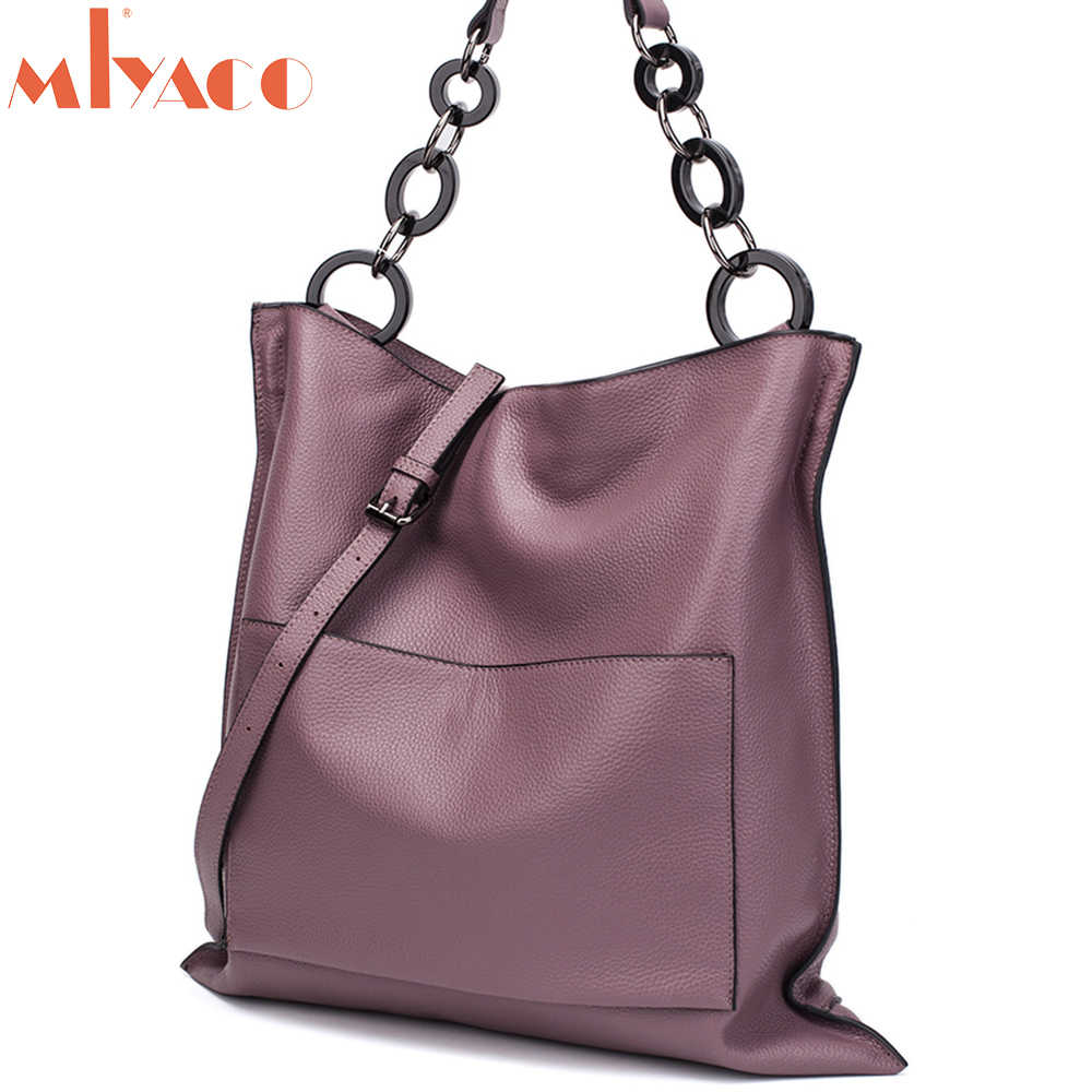 MIYACO роскошные сумки на плечо Сумки из кожи для Для женщин сумка-хобо Курьерские сумки Повседневное мягкие кожаные кошельки большой