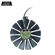 Ventilador de enfriamiento de la tarjeta gráfica T129215SM 95mm 12V 0.25A para ASUS ROG STRIX GTX 1050 Ti RX470 RX570 RX580 POSEIDON GTX 1080 Ti P11G