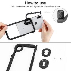 Image 5 - ULANZI Multi functional โทรศัพท์กรงวิดีโอกล้อง Filmmaking RIG สำหรับ iPhone X XS/XS MAX, phonegraphy กรณีวิดีโอขาตั้งกล้อง Mount