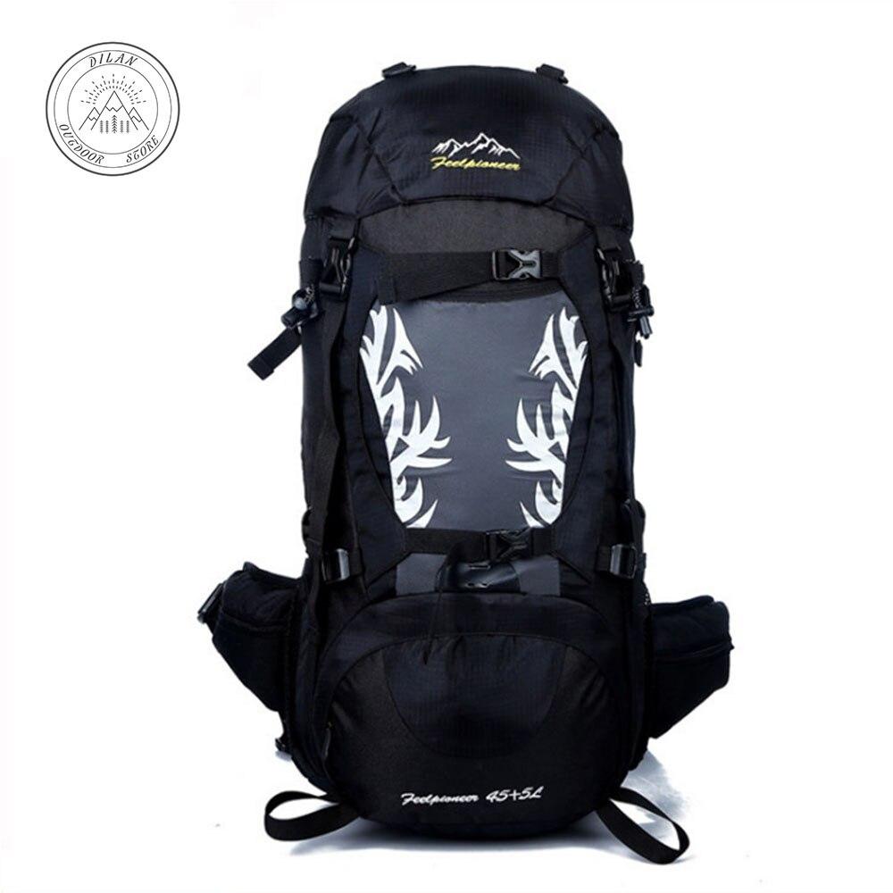 Sac à dos étanche pour hommes et femmes, sac à dos étanche 50L pour sac à dos de randonnée, escalade, essentiel de voyage