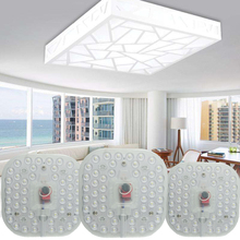 цены Led Module Light AC220V 230V 240V 12W 18W 24W Replace Ceiling Lamp Lighting Source Energy Saving Convenient Installation