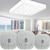 Módulo de led luz ac220v 230 v 240 v 12 w 18 24 substituir lâmpada do teto fonte iluminação poupança energia instalação conveniente|Módulos de LED| |  -