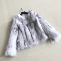 Coat Fur Real Natural Fur Coat Women Fox Fur Jacket Real Fur Fox Coat ksr476