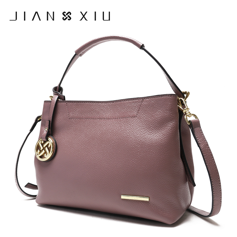 JIANXIU Crossbody Bags for Women Genuine Leather Luxury Handbags Women Bags Designer Shoulder Messenger Tote Bag Handbag X13 teridiva luxury handbags women bags designer messenger shoulder bag brand ladies crossbody leather bags tote bag fashion handbag